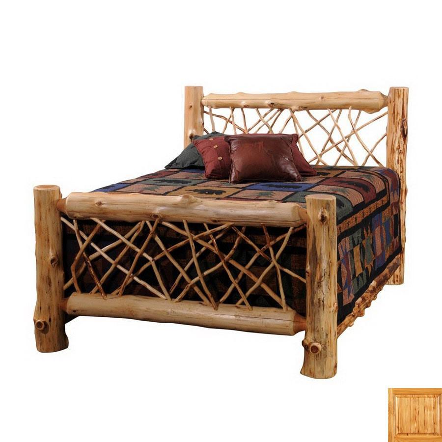 Fireside Lodge Furniture Cedar Traditional King Bedframe
