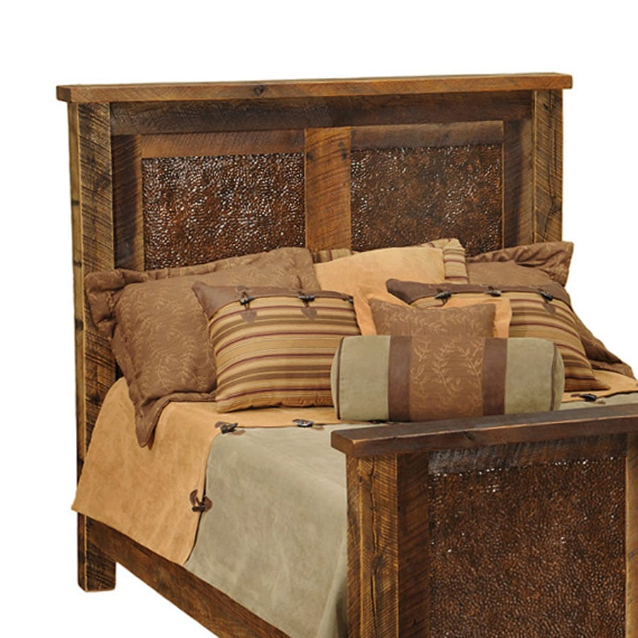 Fireside Lodge Furniture Barnwood Full Headboard