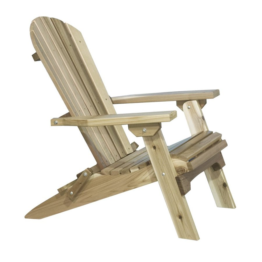 Montana Woodworks Exterior Stain Cedar Adirondack Chair