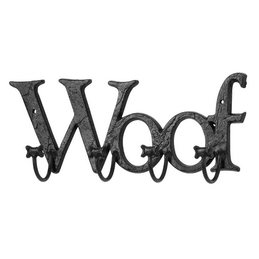 Woodland Imports Woof 4-Hook Mounted Coat Rack