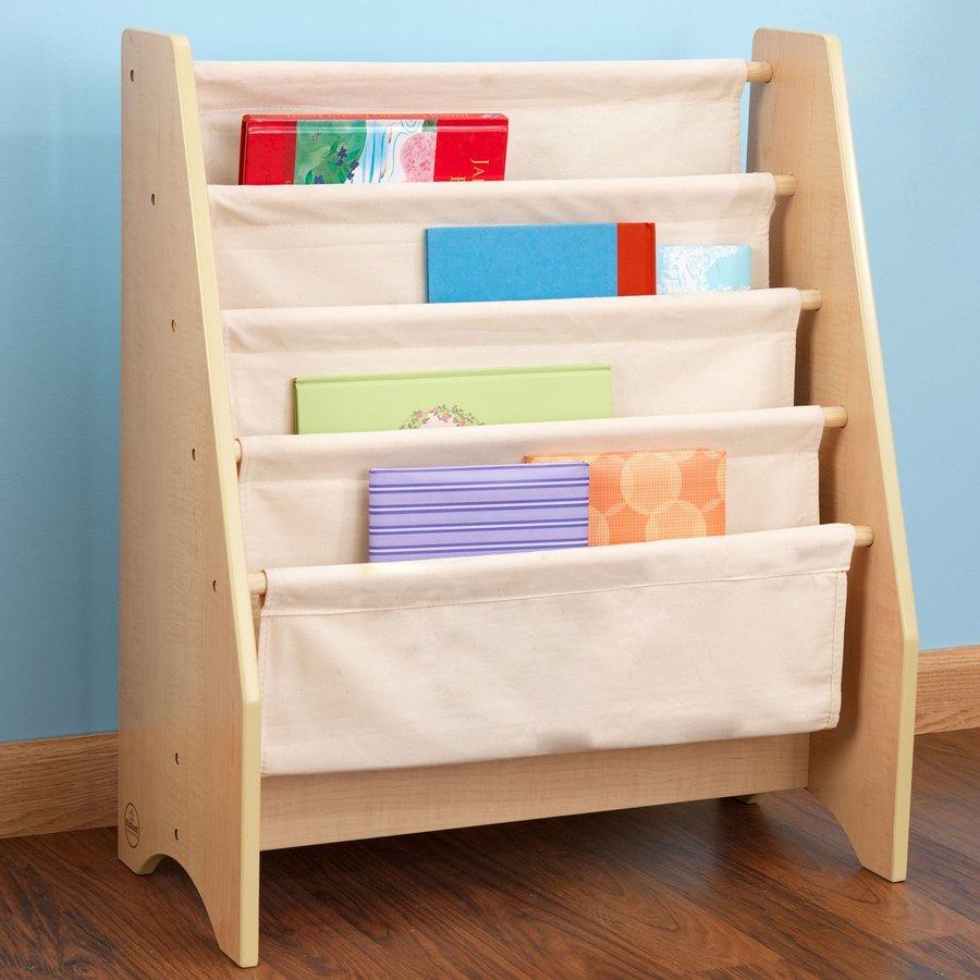 KidKraft Natural 4-Shelf Bookcase