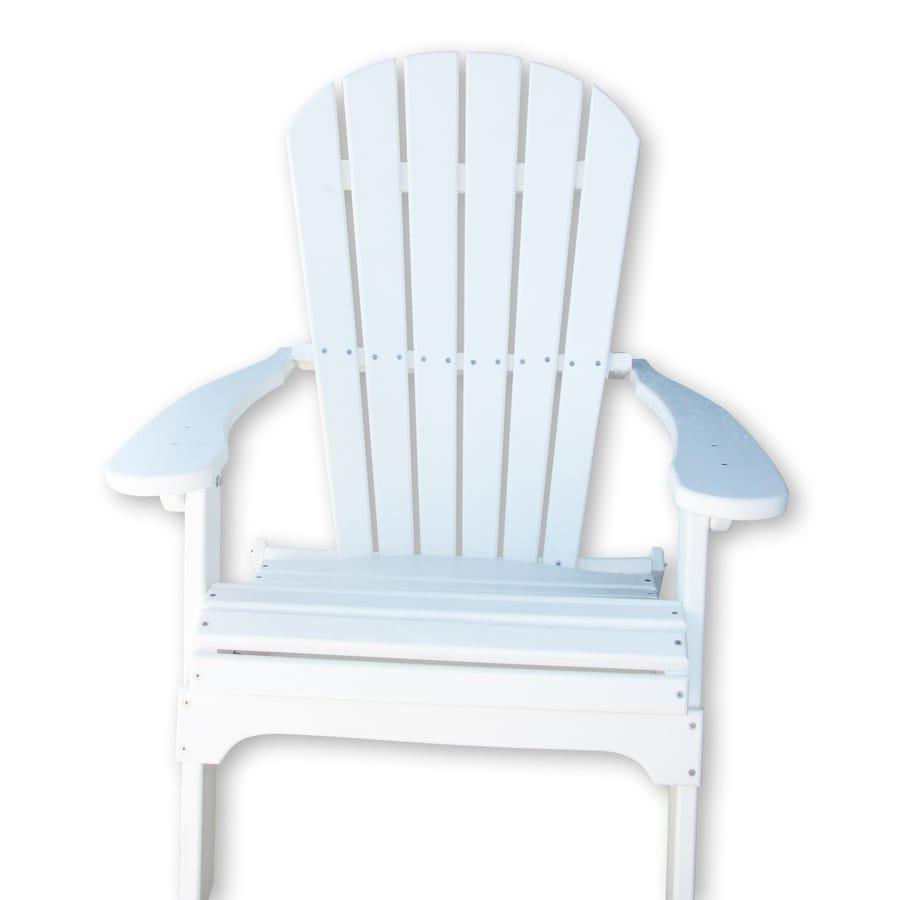 Shop Phat Tommy Folding Adirondack Chair With Slat Seat At