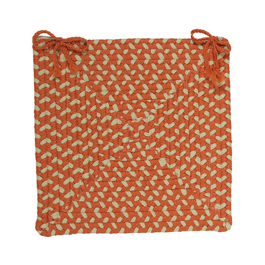 Colonial Mills Montego Tangerine Chair Cushion