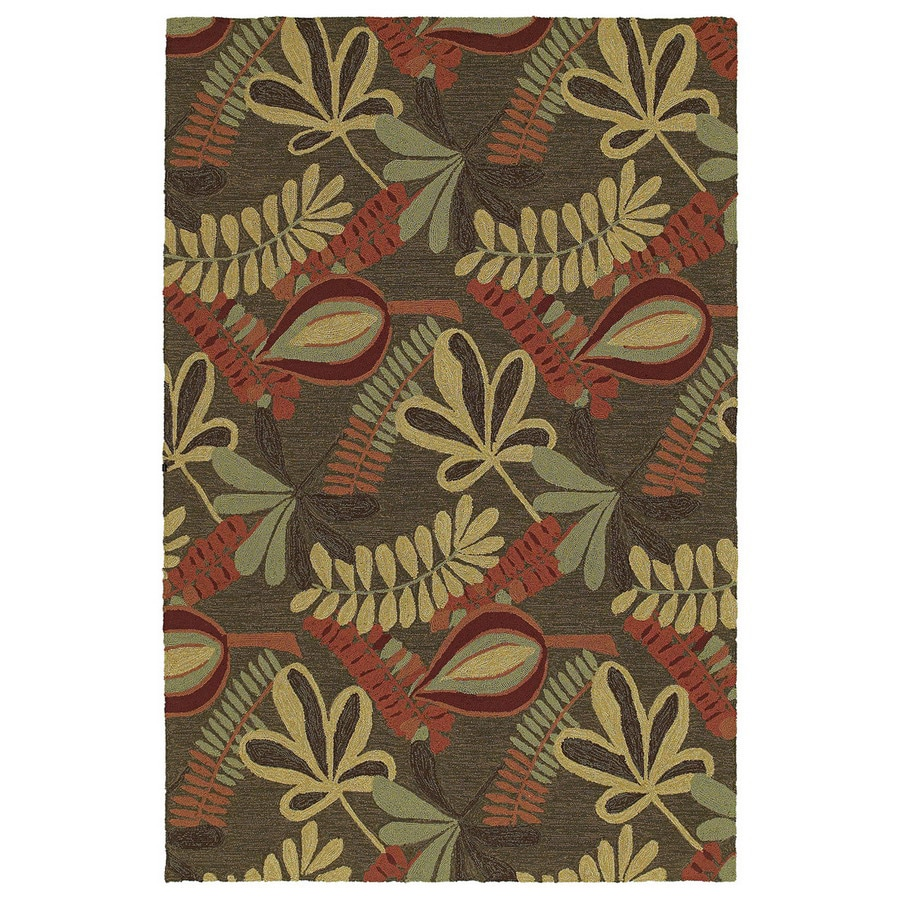 Kaleen Home and Porch Rectangular Multicolor Floral Accent Rug (Common: 3-ft x 5-ft; Actual: 36-in x 60-in)