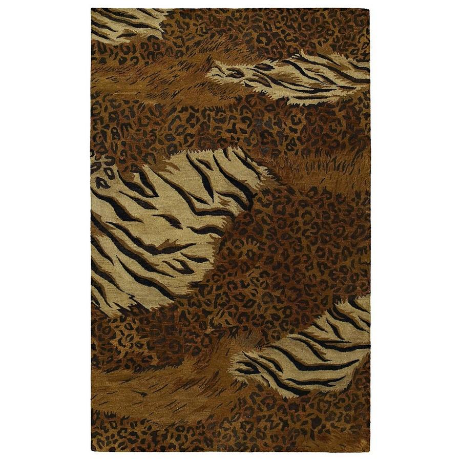 Kaleen Magi 8-ft x 10-ft Rectangular Multicolor Transitional Wool Area Rug