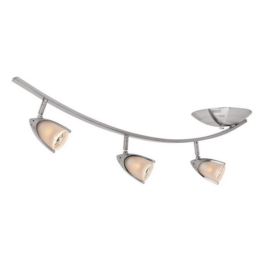Shop access lighting comet 3 light 35 in brushed steel flexible access lighting comet 3 light 35 in brushed steel flexible track light with opal aloadofball Choice Image