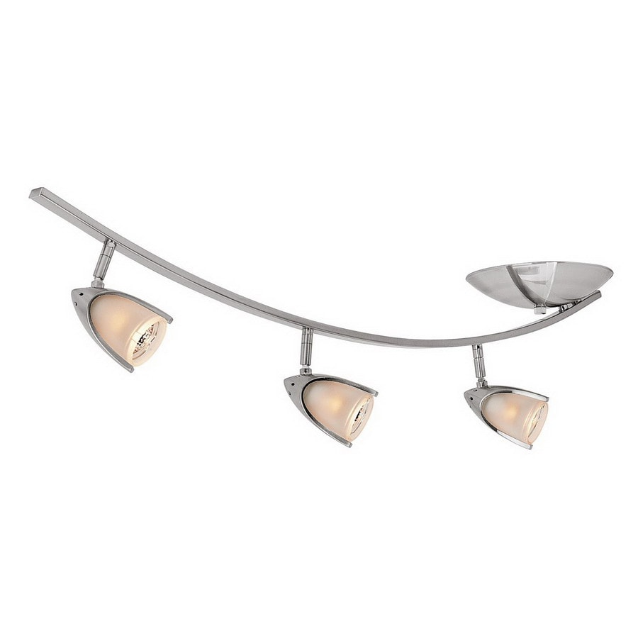 Shop access lighting comet 3 light 35 in brushed steel flexible access lighting comet 3 light 35 in brushed steel flexible track light with opal aloadofball