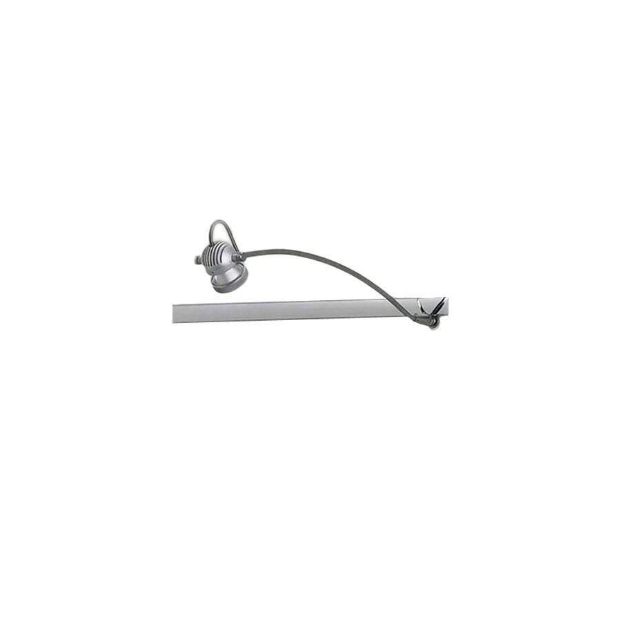 Bruck Lighting Systems LED Matte Chrome Flexible Track Lighting Head