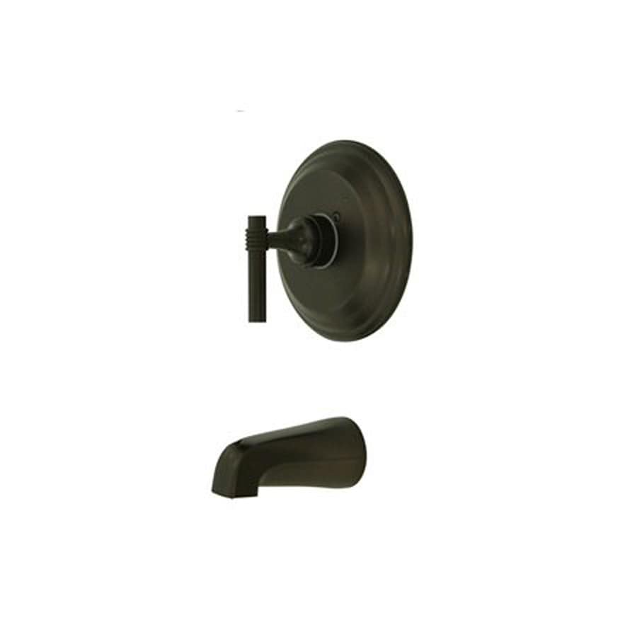 Elements of Design Milano Oil-Rubbed Bronze 1-Handle-Handle Fixed Wall Mount Bathtub Faucet