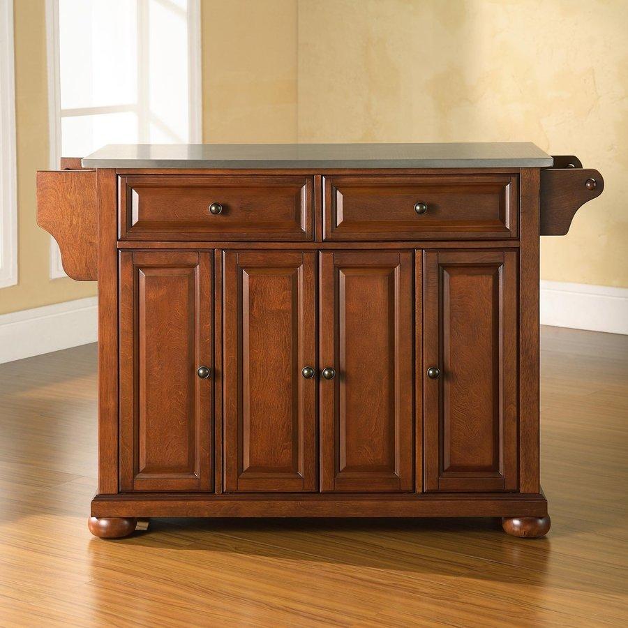 Crosley Furniture Brown Craftsman Kitchen Island