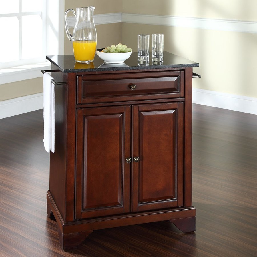 Https Www Lowes Com Pd Crosley Furniture 28 25 In L X 18 In W X 36 In H Vintage Mahogany Kitchen Island 4596619