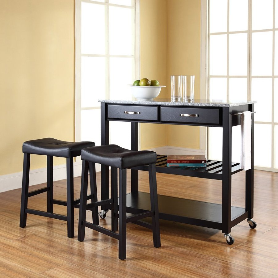 Shop Crosley Furniture 42-in L X 18-in W X 36-in H Black