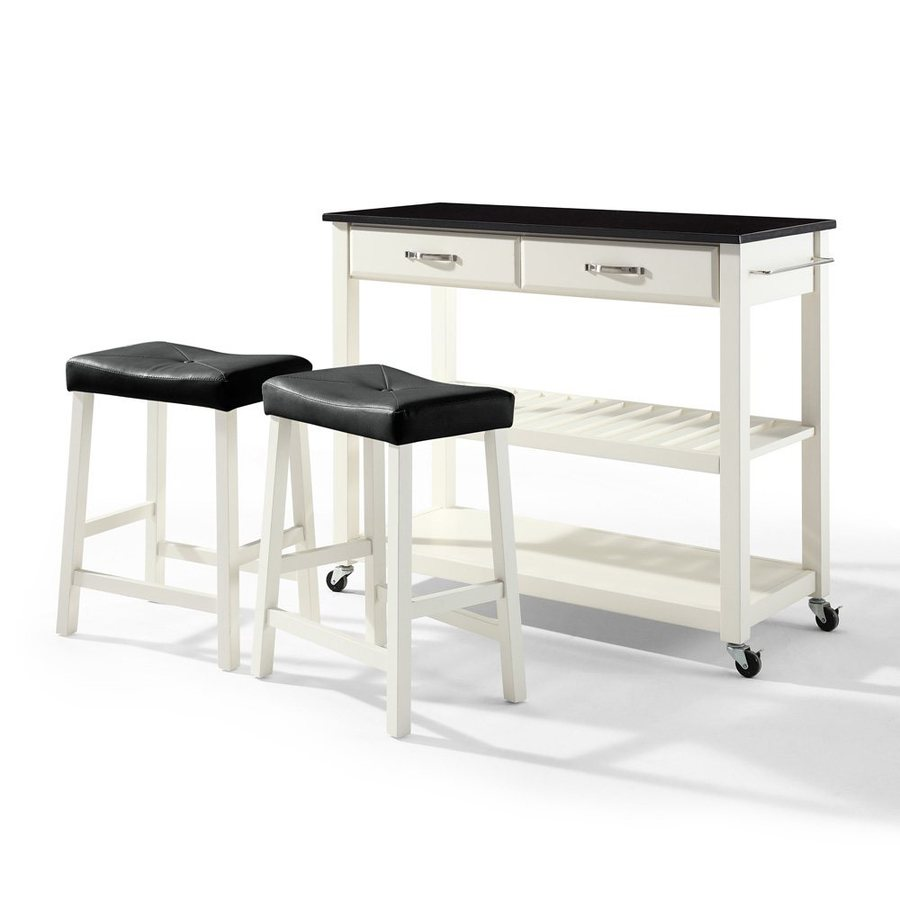 Crosley Furniture 42-in L X 18-in W X 36-in H White