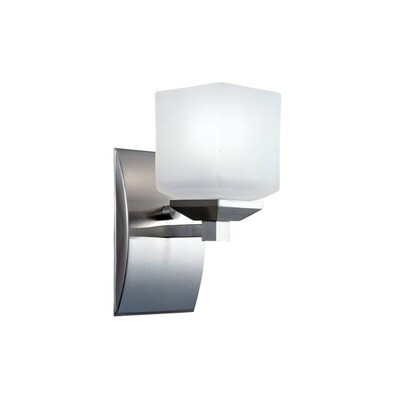 Satin Nickel Bathroom Vanity Light