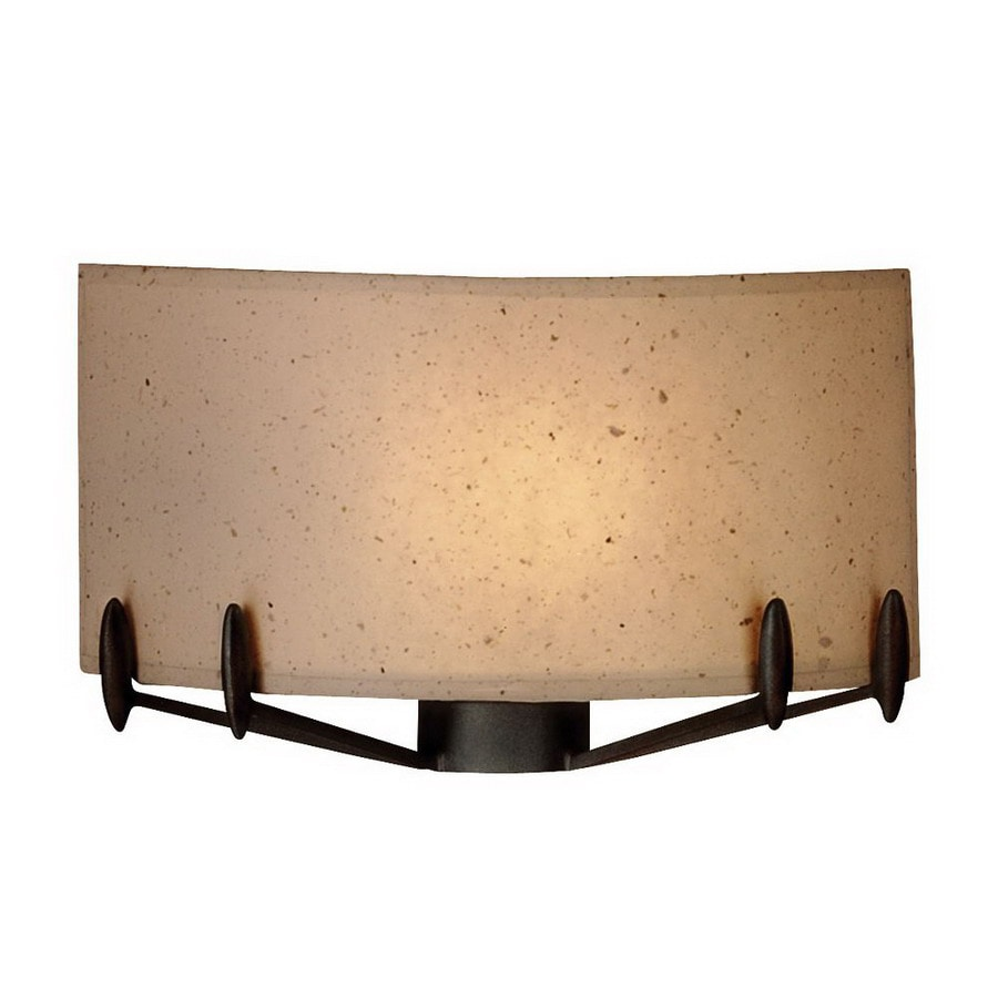 Philips Forecast 12-in W 1-Light Bronze Luster Pocket Hardwired Wall Sconce