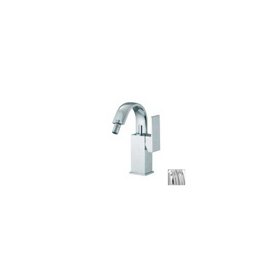 Nameeks Fima Carlo Frattini Brick Chrome Horizontal Spray Bidet Faucet In The Bidet Faucets Department At Lowes Com