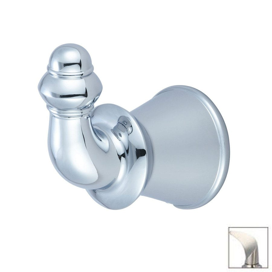 Pioneer Industries Del Mar Brushed Nickel Robe Hook