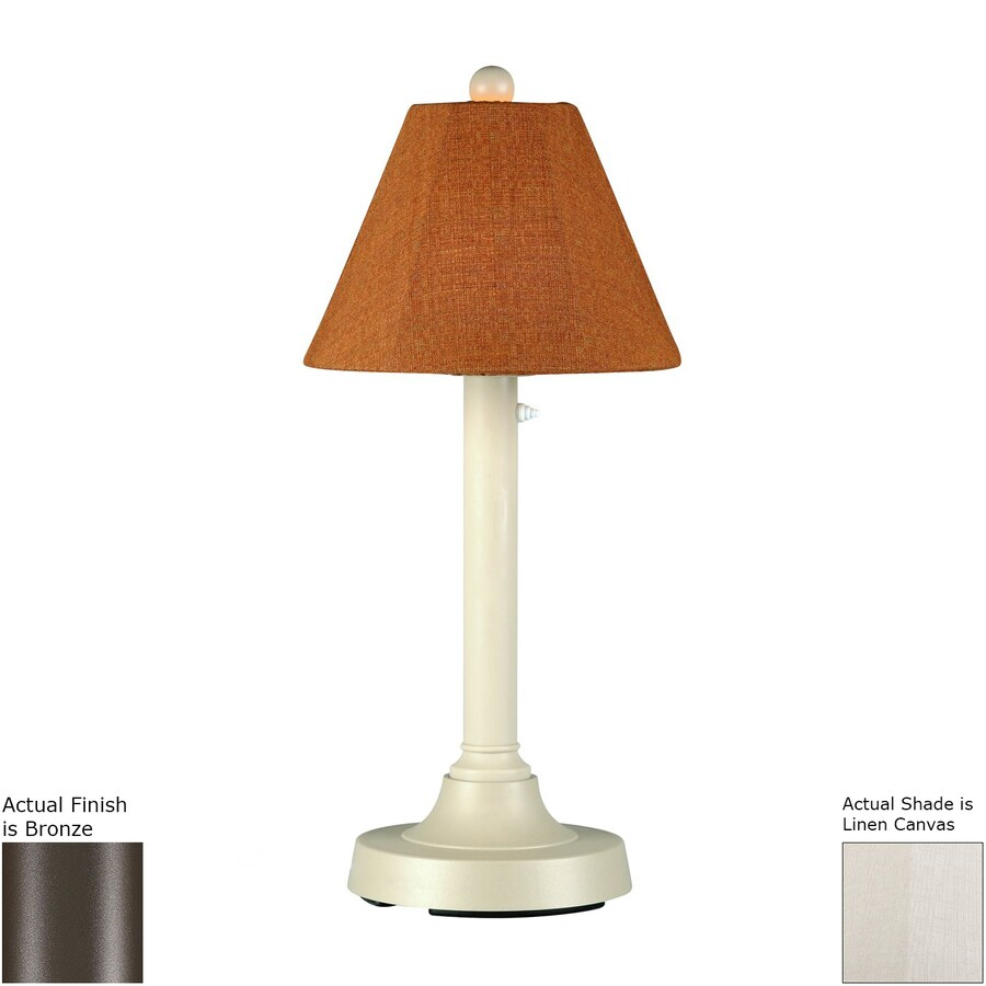 Patio Living Concepts 30-in Resin Plug-in Outdoor Table Lamp