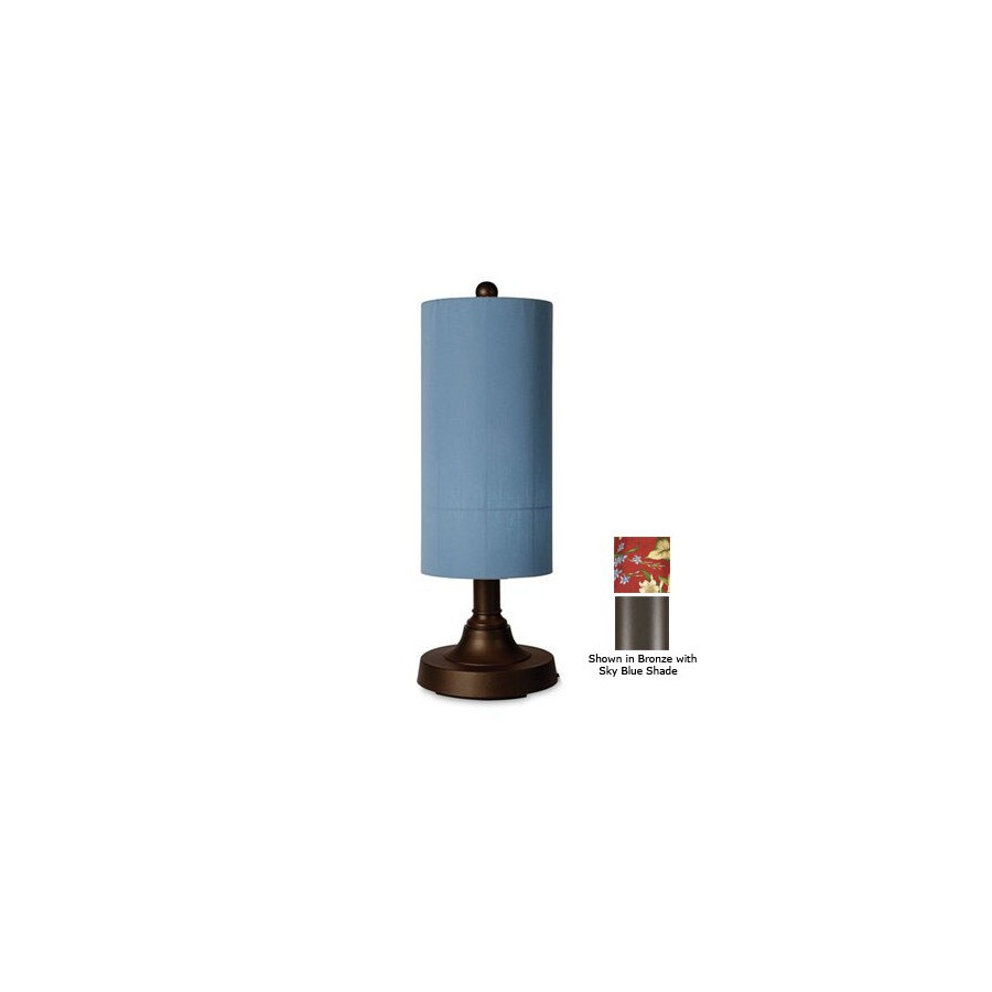 Patio Living Concepts 30-in Bronze Outdoor Table Lamp with ...