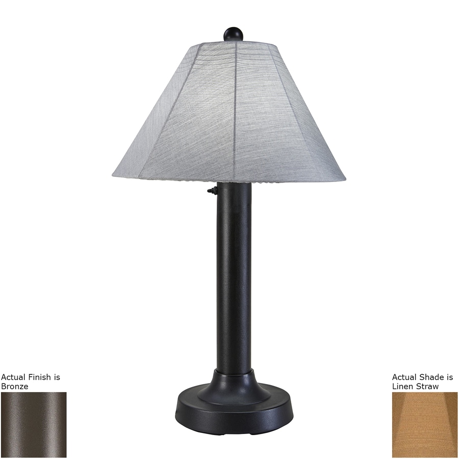 Patio Living Concepts 34-in Resin Plug-in Outdoor Table Lamp