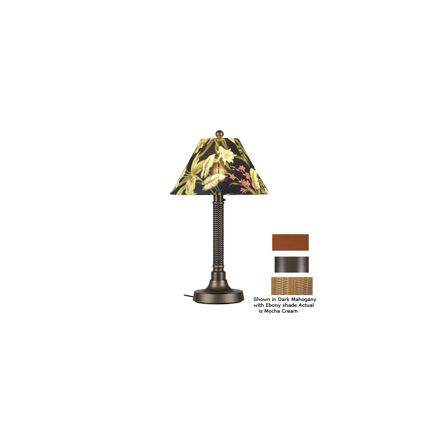 Patio Living Concepts 34-in Bronze Outdoor Table Lamp with ...