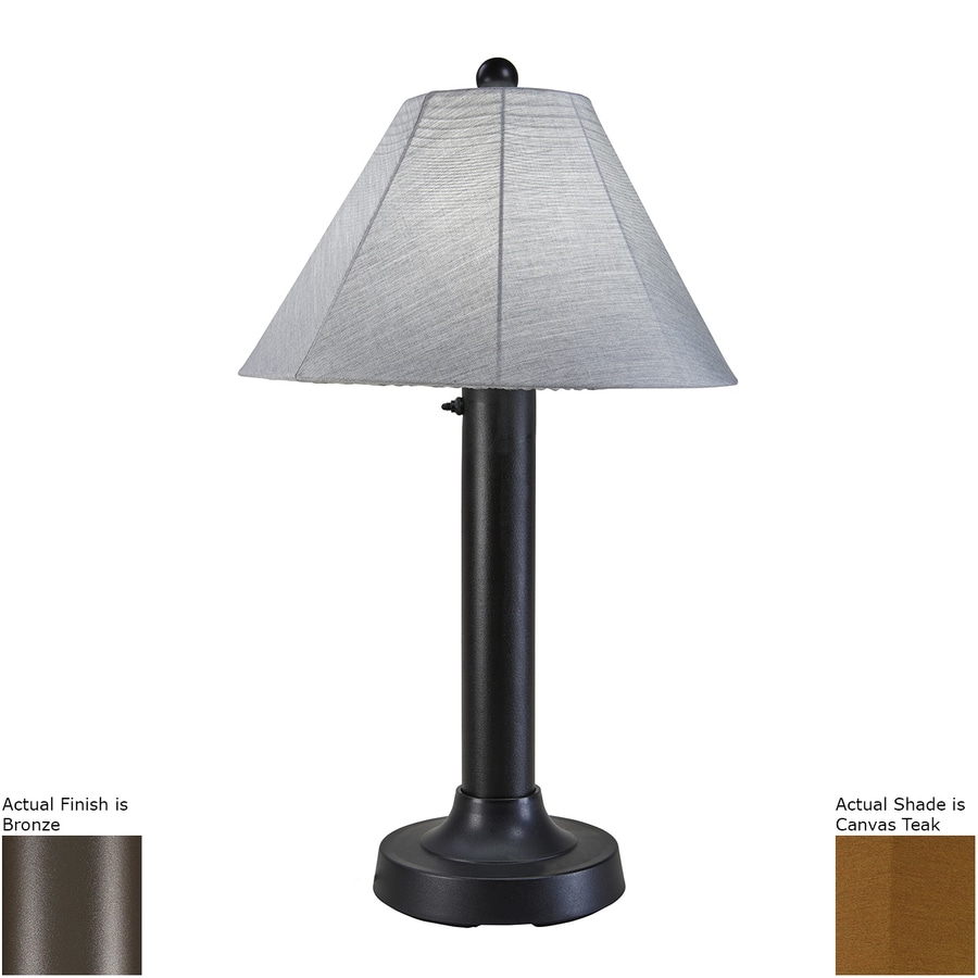 Outdoor Lamp Clearance: Shop Patio Living Concepts Seaside 34-in Bronze Electrical