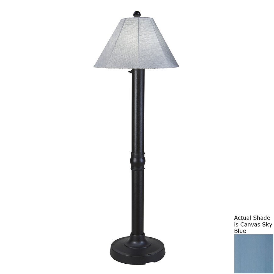 Patio Living Concepts 60-in Plug-In Outdoor Floor Lamp