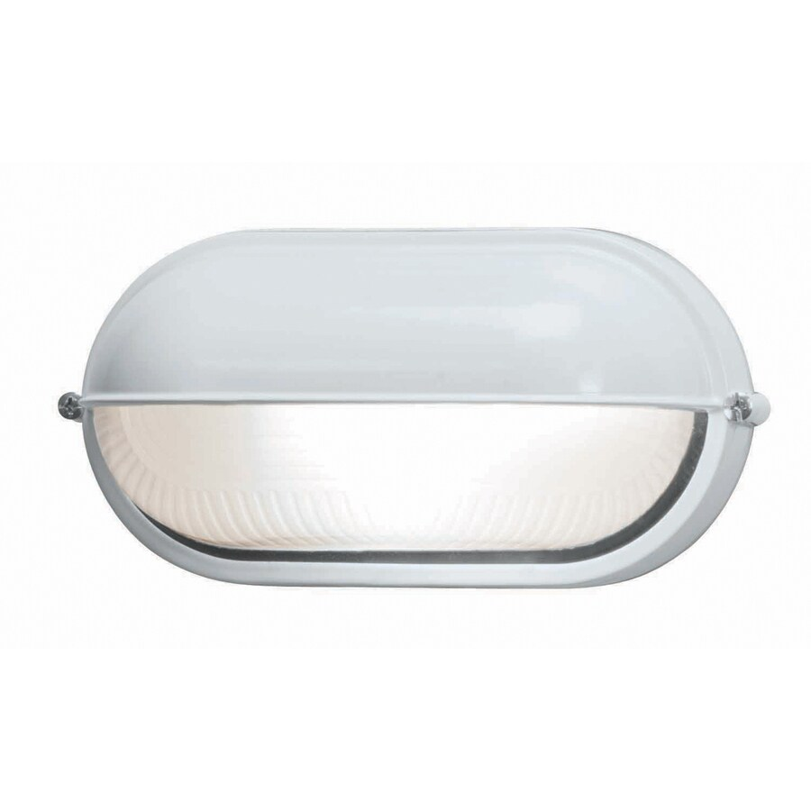Access Lighting Nauticus 4.25-in H White Outdoor Wall Light