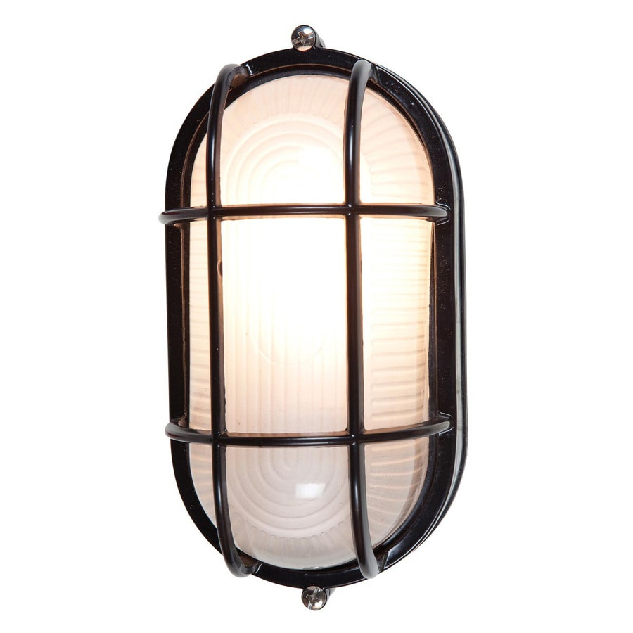 Shop Access Lighting Nauticus 11-in H Black Medium Base (E