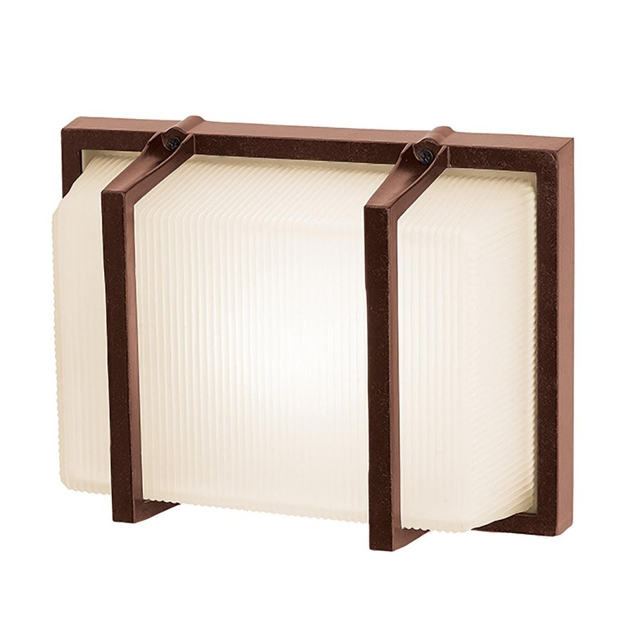 Access Lighting Neptune 8.25-in H Bronze Outdoor Wall Light