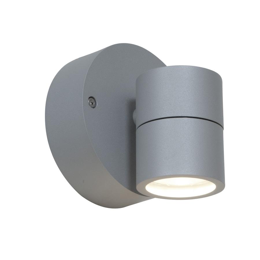 Access Lighting Ko 4.25-in H Satin Outdoor Wall Light
