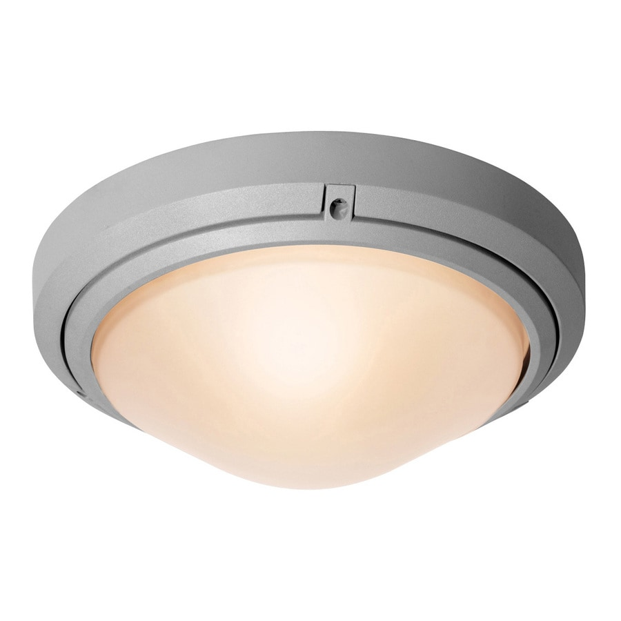 Access Lighting Oceanus 10.5-in H Satin Medium Base (E-26) Outdoor Wall Light