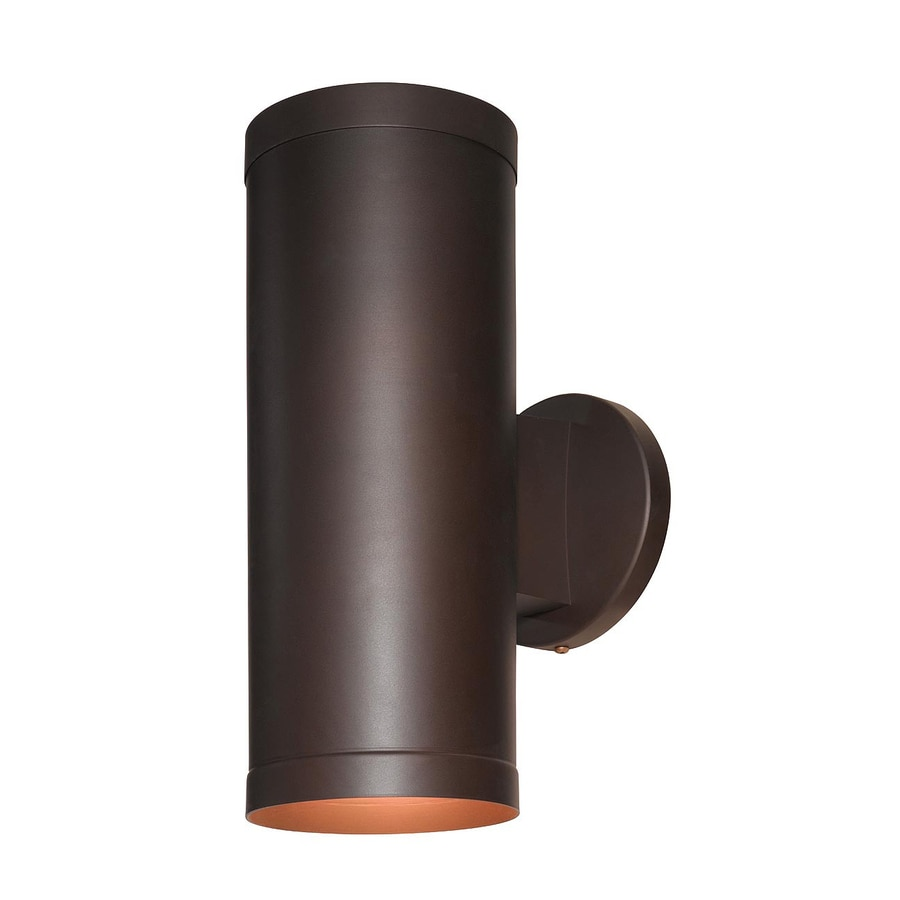Access Lighting Poseidon 12-in H Bronze Outdoor Wall Light