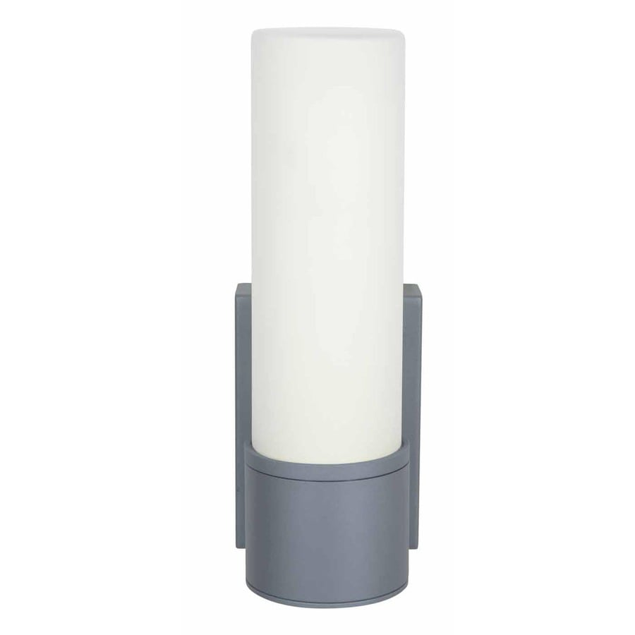 Access Lighting Nyz 11.25-in H Satin Outdoor Wall Light