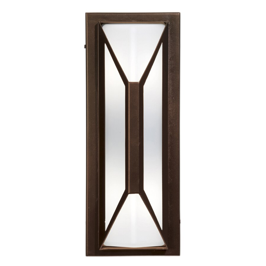 Access Lighting Nyami 16.25-in H Bronze Outdoor Wall Light