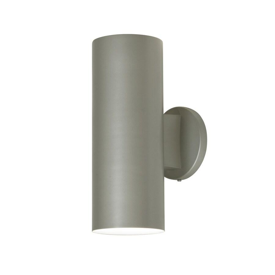 Access Lighting Poseidon 12-in H Satin Outdoor Wall Light