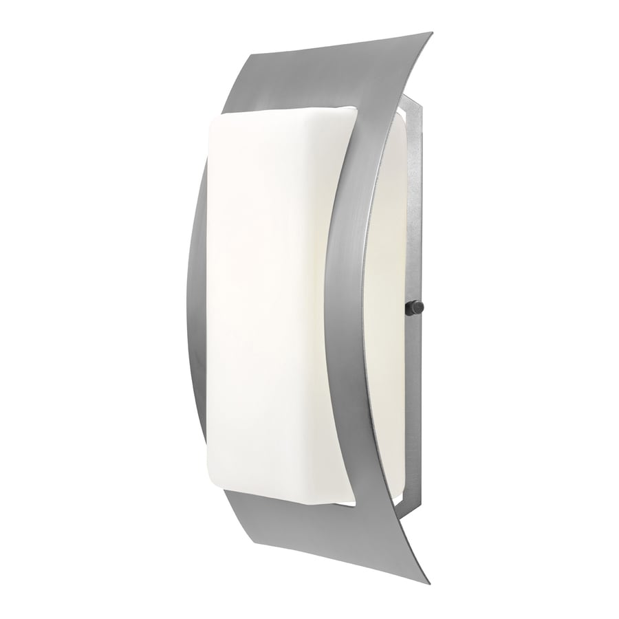 Access Lighting Eclipse 14-in H Satin Outdoor Wall Light