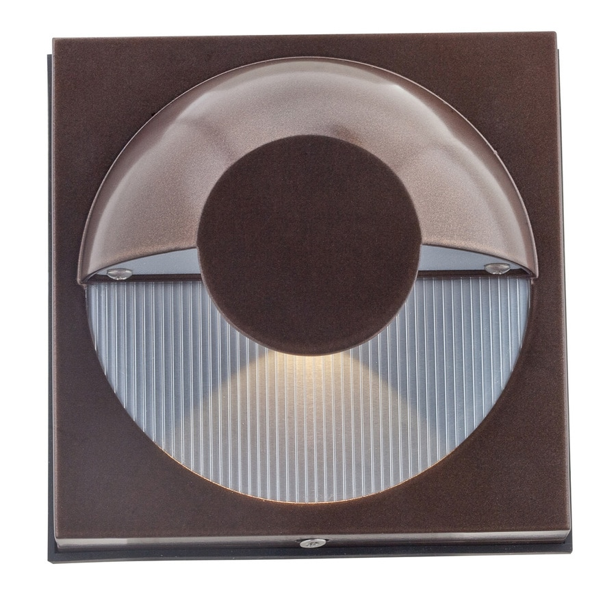 Access Lighting Zyzx 5.25-in H Bronze Outdoor Wall Light