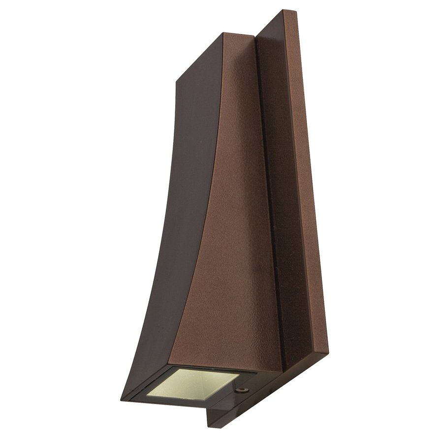 Exterior Wall Sconces Lowes : Shop Access Lighting Archer 7-in H Bronze Outdoor Wall ...