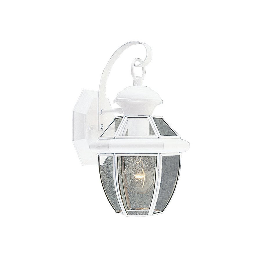Livex Lighting Monterey 12.5-in H White Outdoor Wall Light