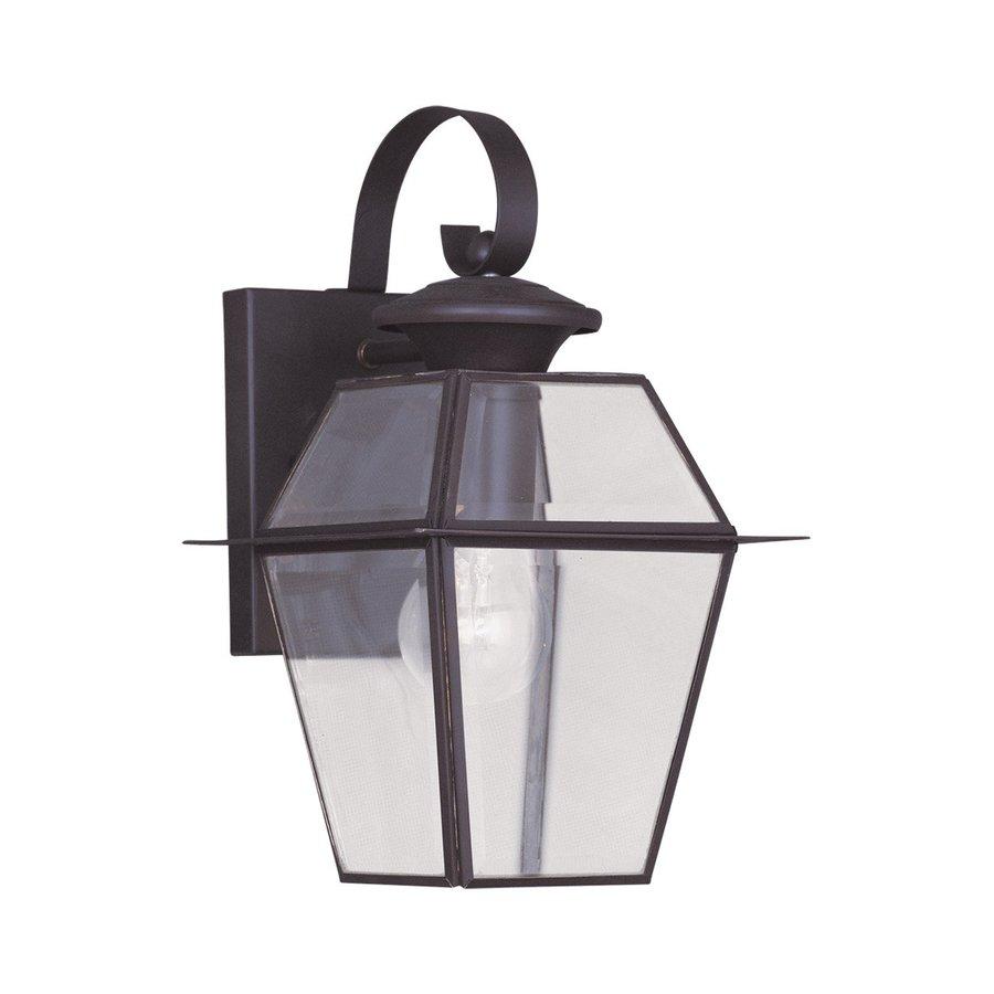 Livex Lighting Westover 12.5-in H Bronze Outdoor Wall Light