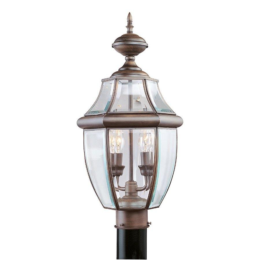 Livex Lighting Monterey 21.5-in H Imperial Bronze Post Light