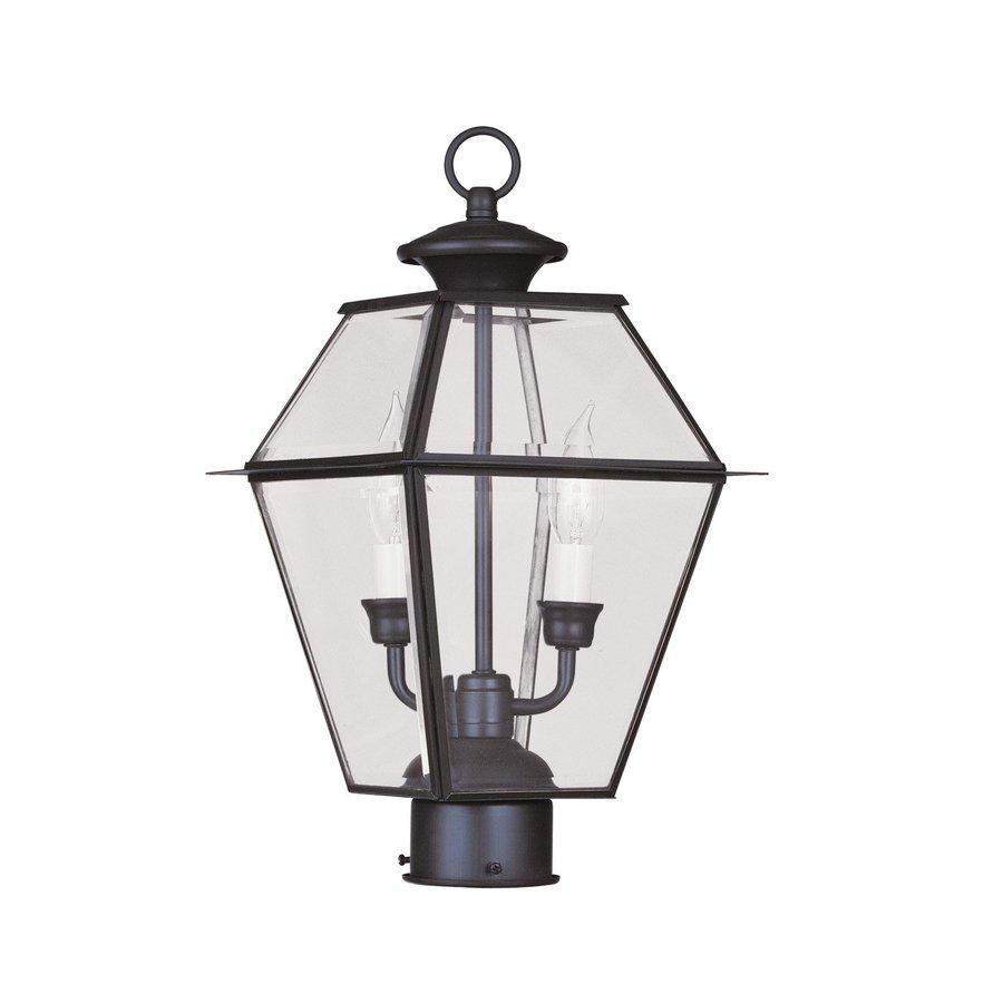 Livex Lighting Westover 16.5-in H Bronze Post Light