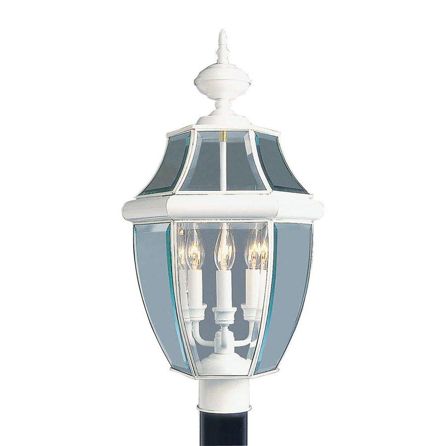 Livex Lighting Monterey 23.5-in H White Post Light