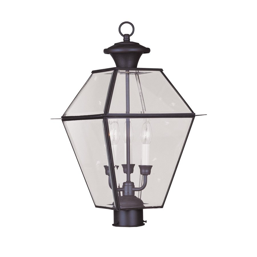 Livex Lighting Westover 22-in H Bronze Post Light