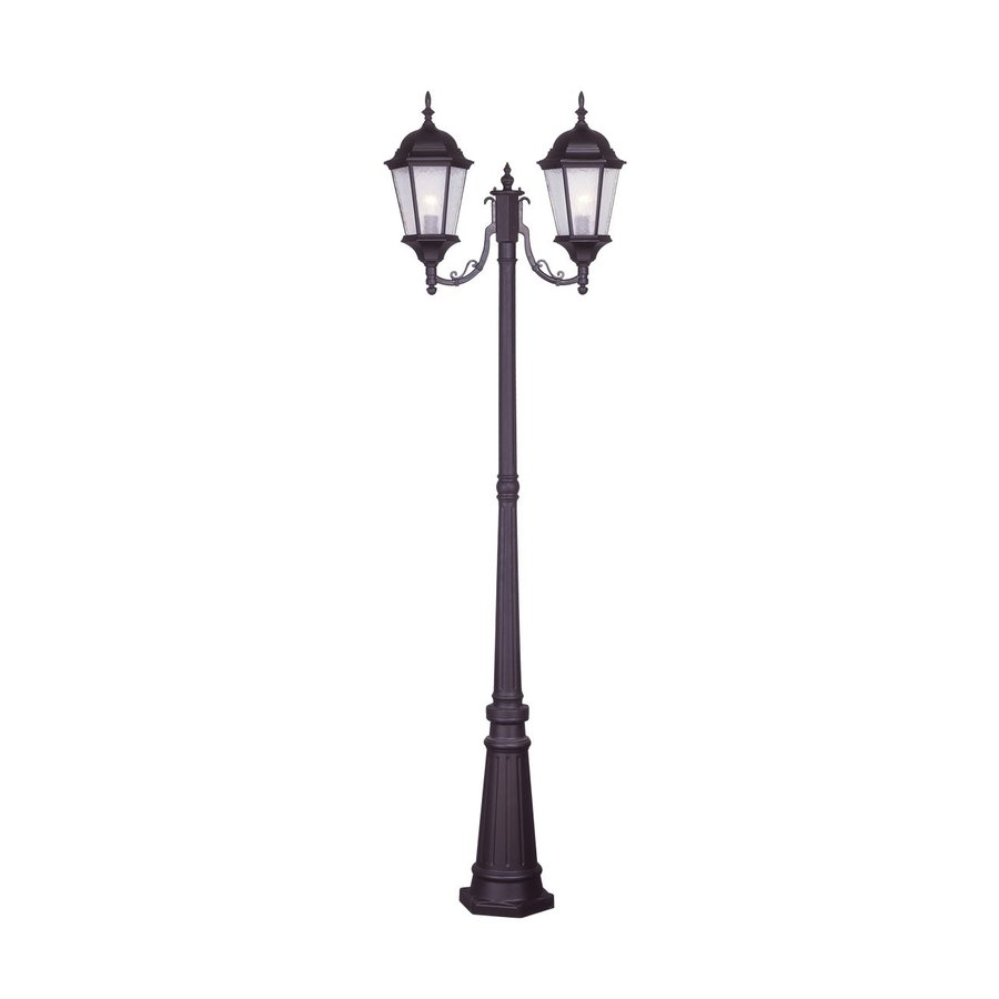 Livex Lighting Hamilton 85.75-in H Bronze Standard Complete Post Light