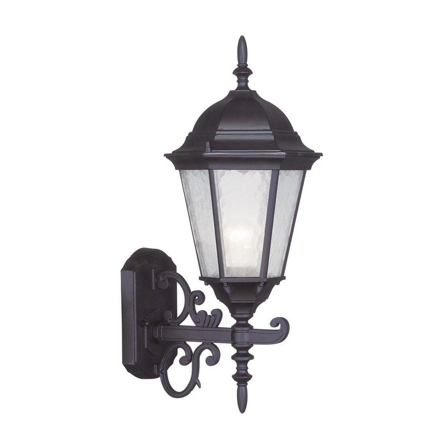 Livex Lighting Hamilton 20-in H Bronze Medium Base (E-26) Outdoor Wall Light