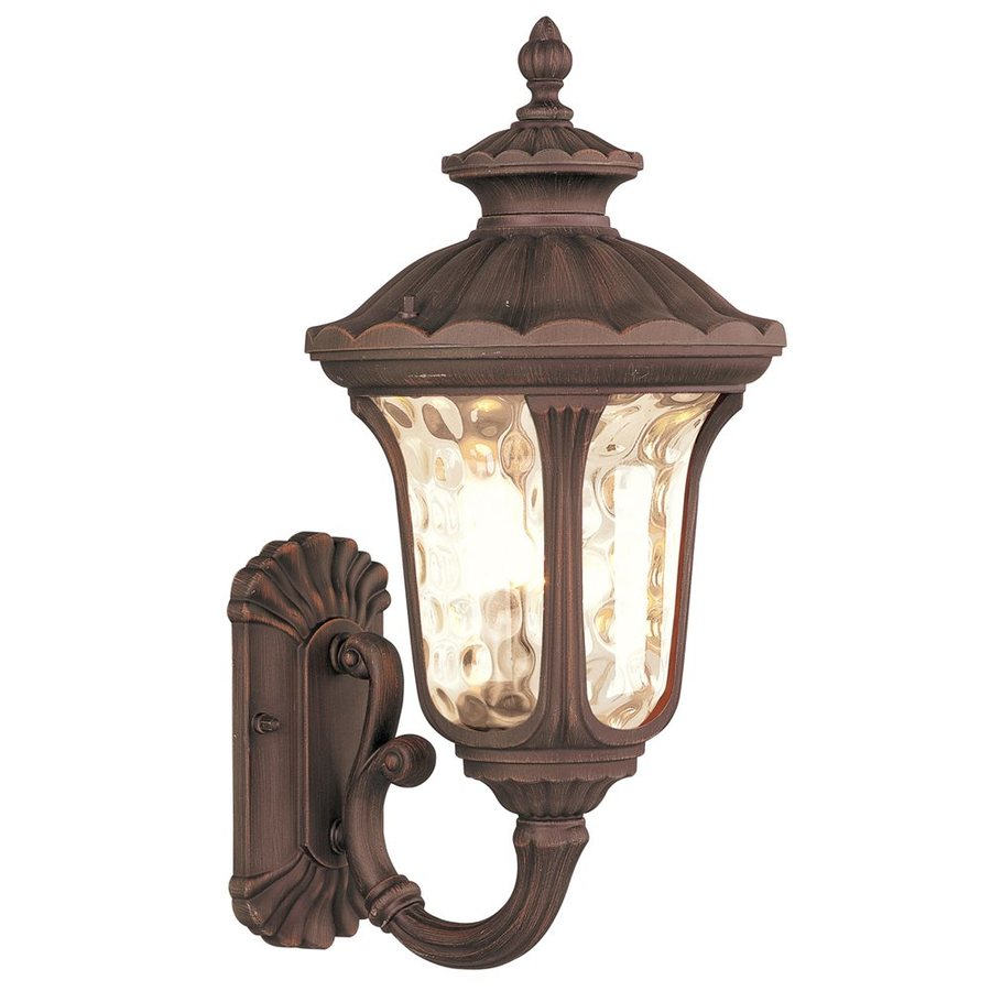 Livex Lighting Oxford 18-in H Imperial Bronze Outdoor Wall Light