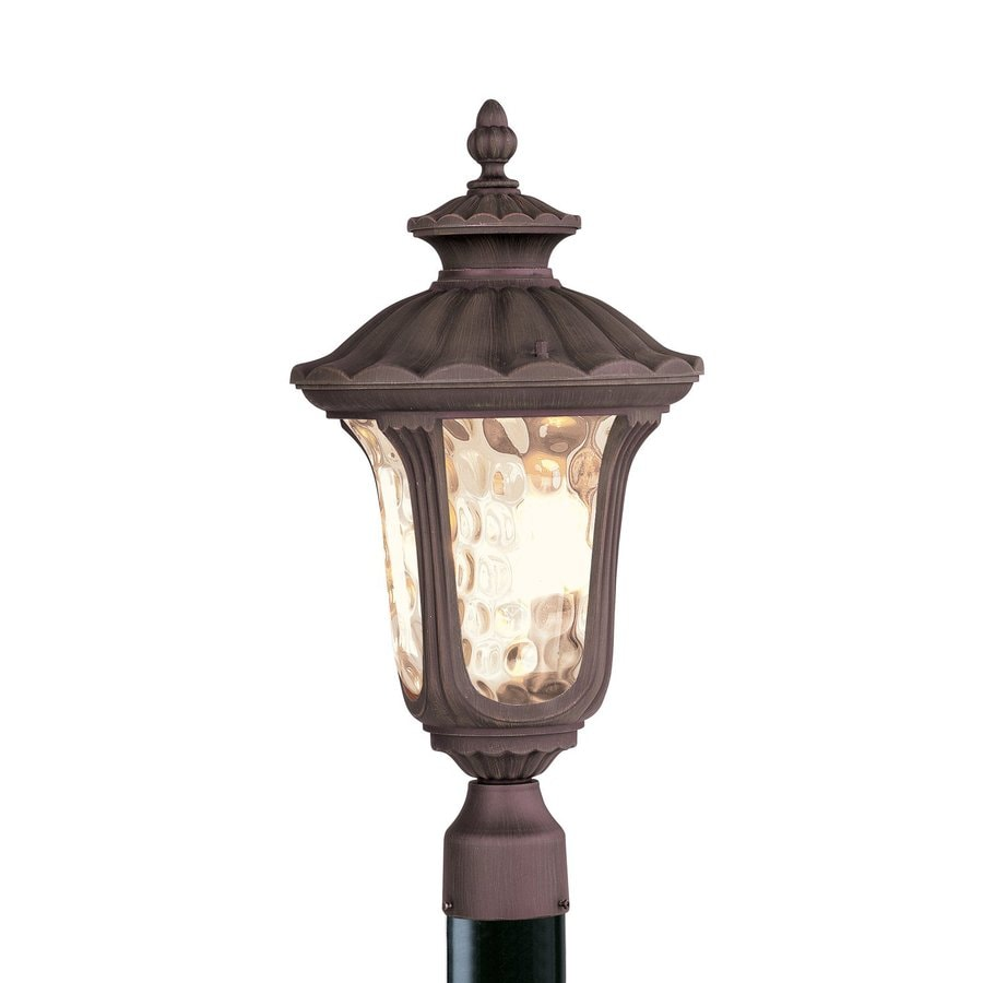 Livex Lighting Oxford 22-in H Imperial Bronze Post Light