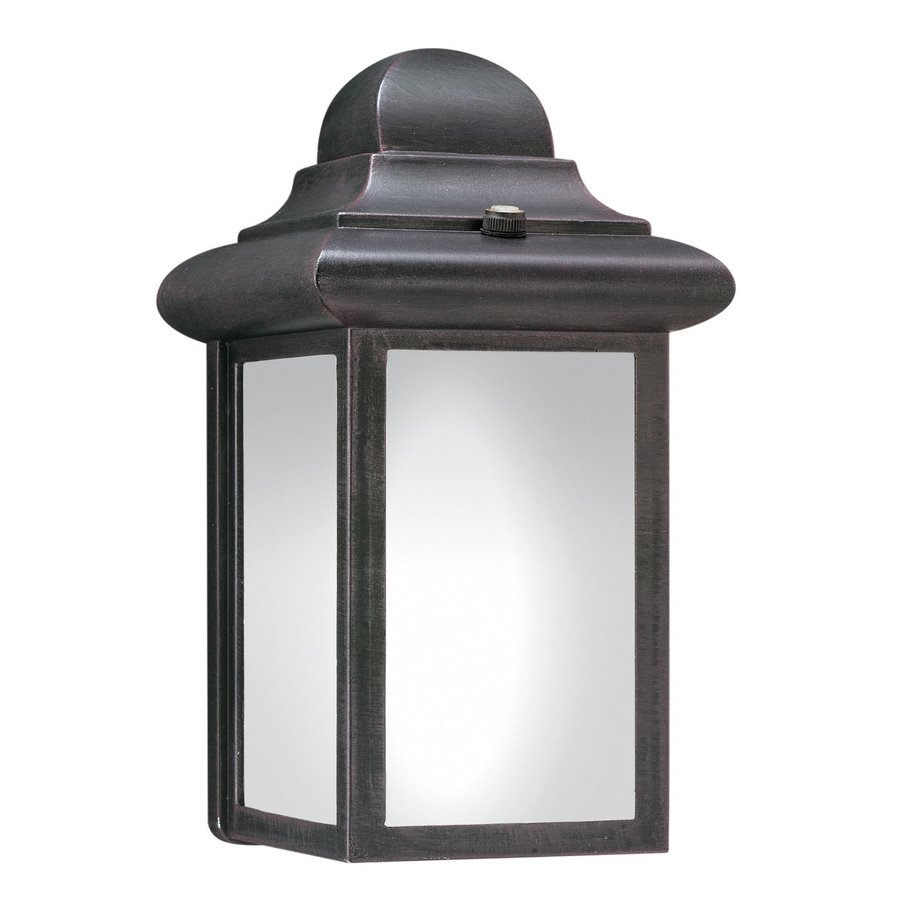 Thomas Lighting Hawthorne 9-in H Painted Bronze Gu24 Pin Base Outdoor Wall Light